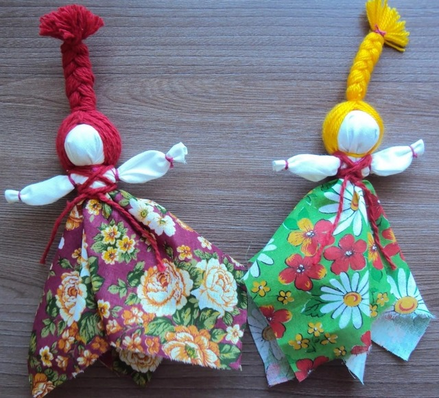 Как сделать славянскую куклу Масленицу своими руками, домашняя Масленица мастер-класс,