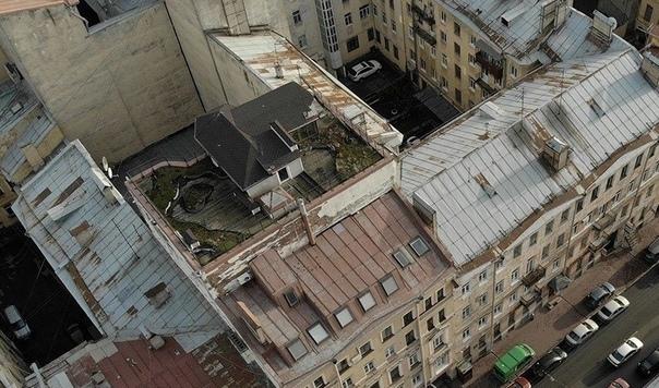 А вы знали, что в Петербурге есть дом на крыше дома