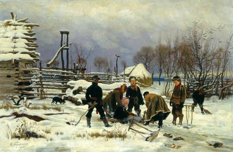 10 октября родился ИВАН ТВОРОЖНИКОВ – известный русский живописец, художник-жанр...