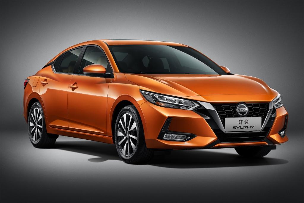 1 место: Nissan Sylphy — 166 808 проданных авто к концу апреля 2021 года, 2,4% доли рынка