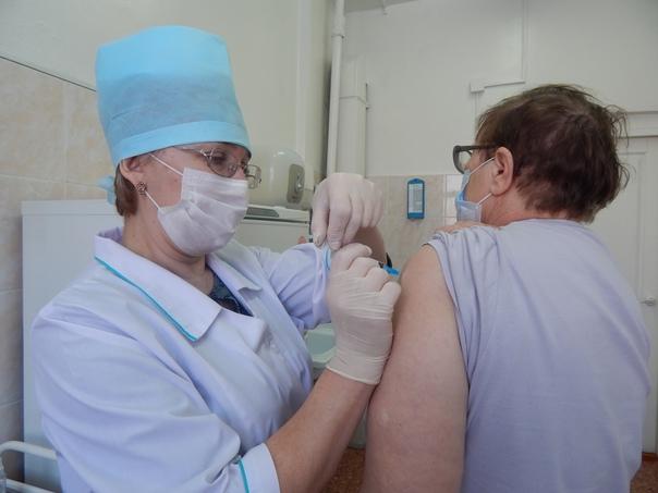 Прививка займёт всего несколько минут.