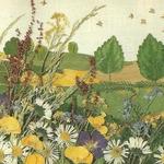 Фантазии из листьев. Мастерим картины из сухих листьев, цветов и трав (МК и идеи)