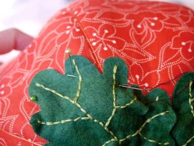 Как сщить тыкву из ткани на Хэллоуин своими руками,
