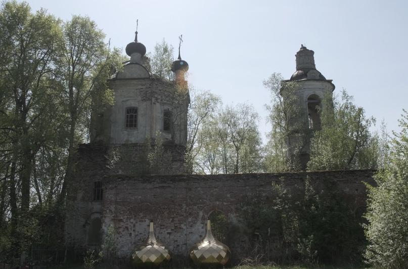 Руины Спасо-Преображенской церкви