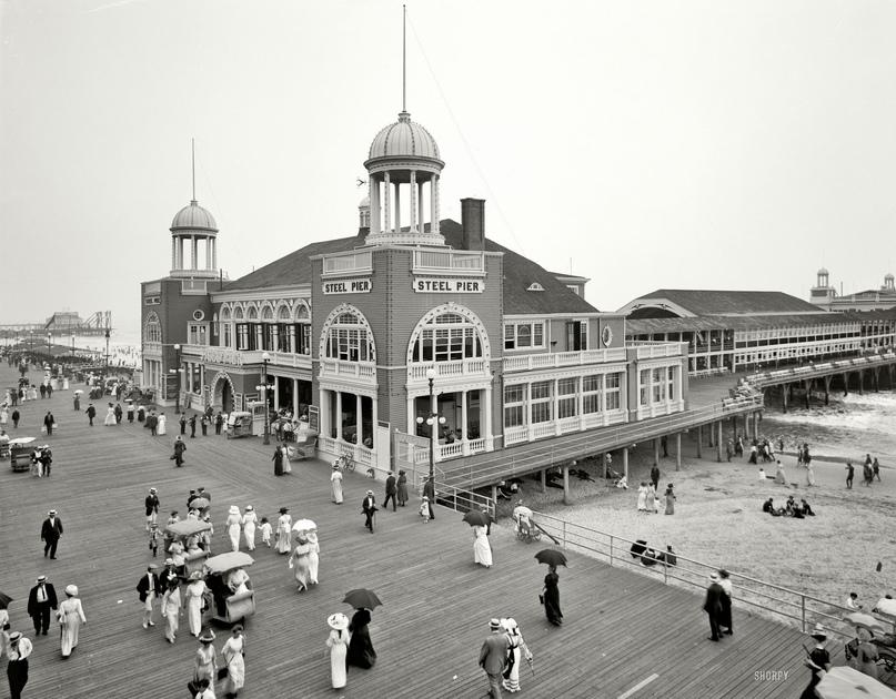 HD-фотографии городов США сделанные в 1900-1915 годах, изображение №3