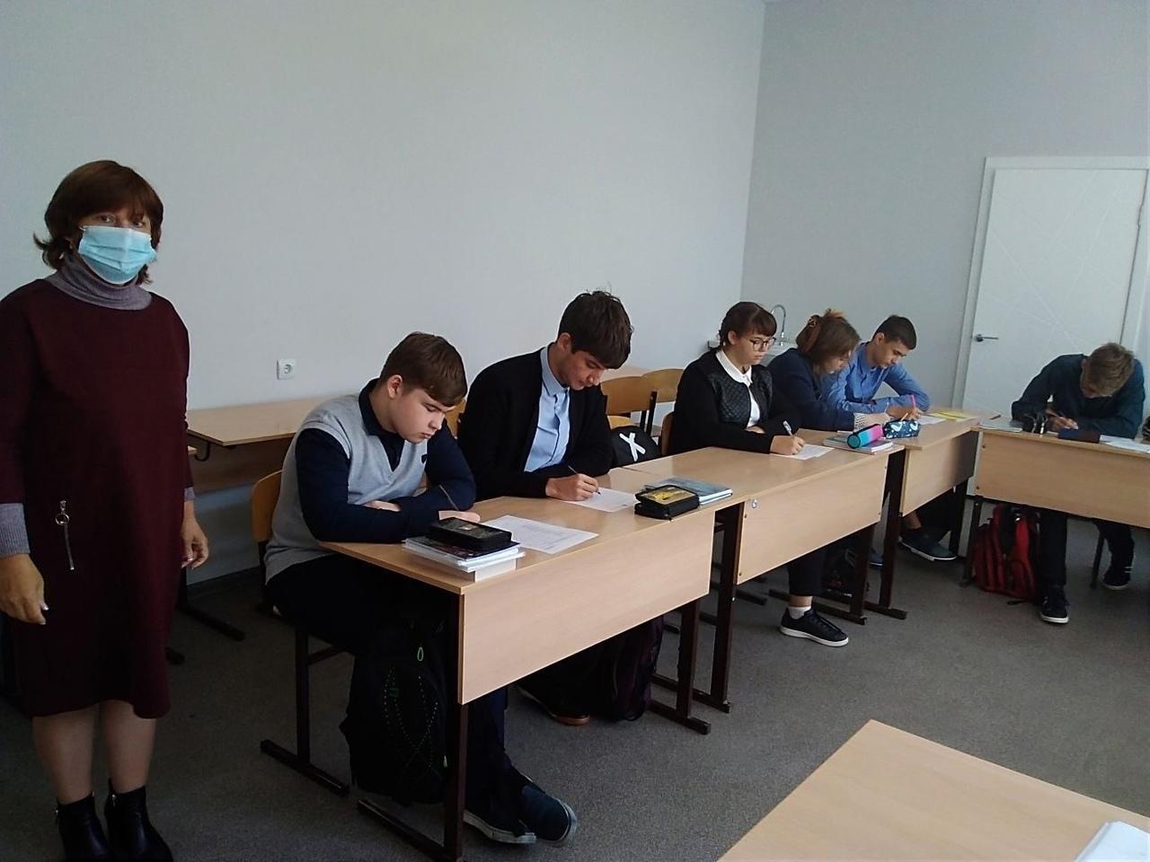 Начались профильные занятия с учащимися медицинского класса школы №2