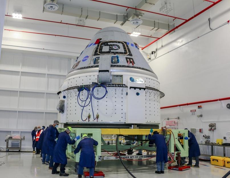 Попытка №2: Boeing готовит корабль Starliner к миссии Orbital Flight Test-2, зап...