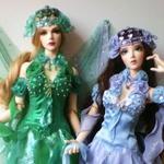 Шикарные наряды для кукол — фото-идеи