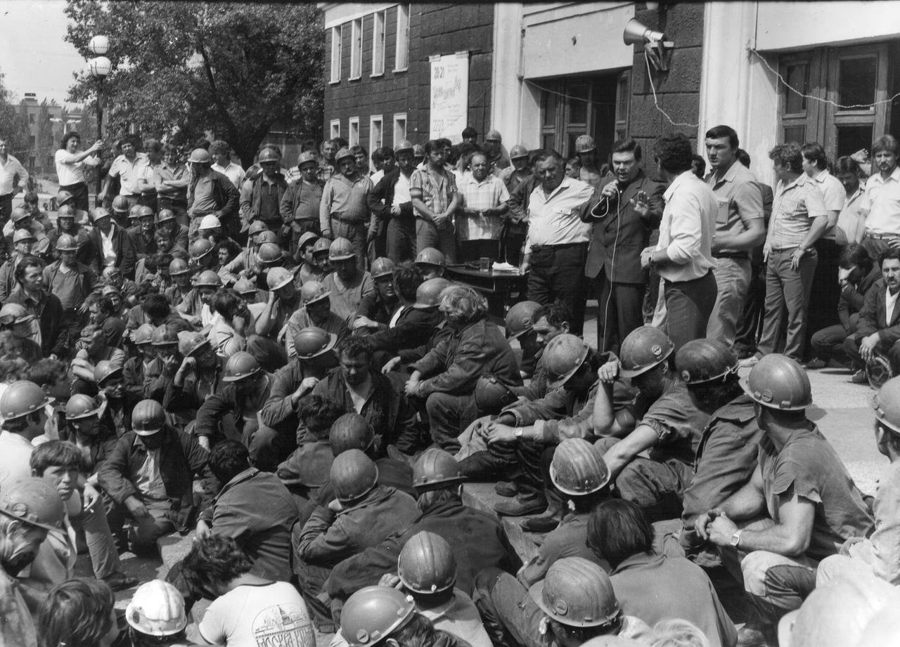 «Мы выходили – и все гремело»: Как забастовки горняков приблизили развал СССР