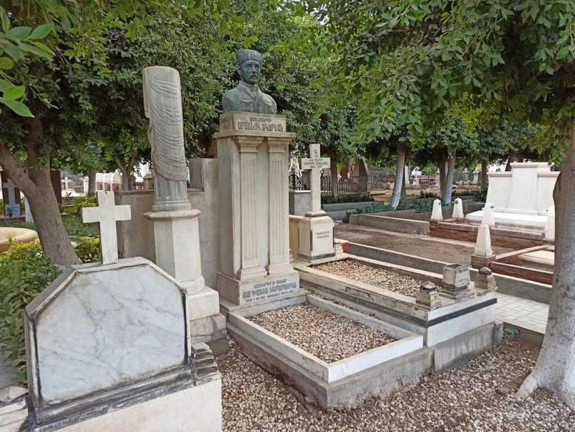 Старейшее в египетской столице Армянское кладбище