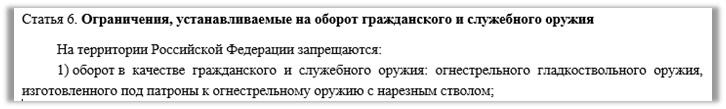 Без повторных поправок к закону «Об оружии» не обойтись!, изображение №4