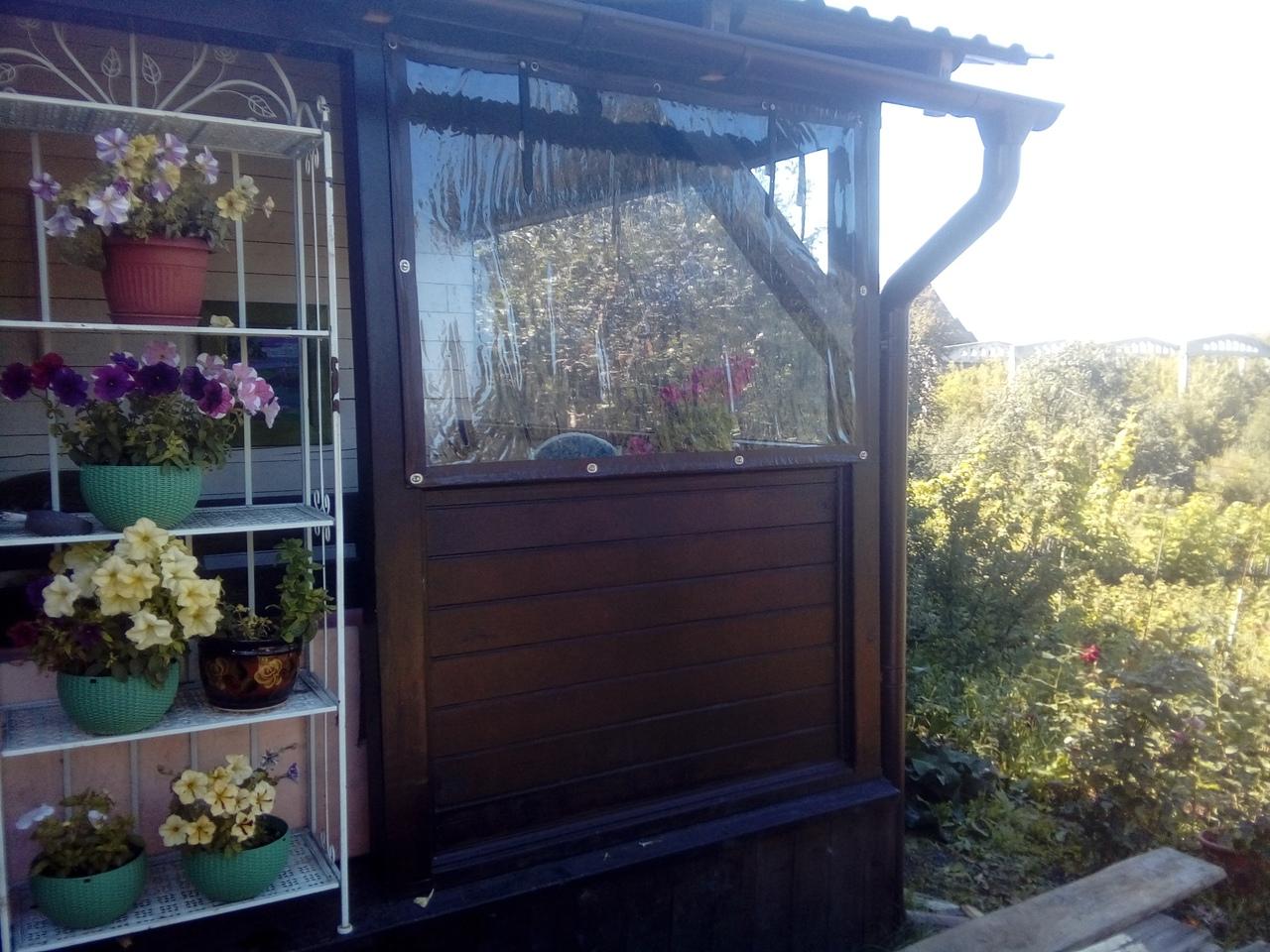 Мягкие окна на балкон Бийск