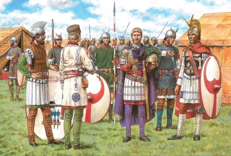 Юлиан накануне битвы при Аргенторате