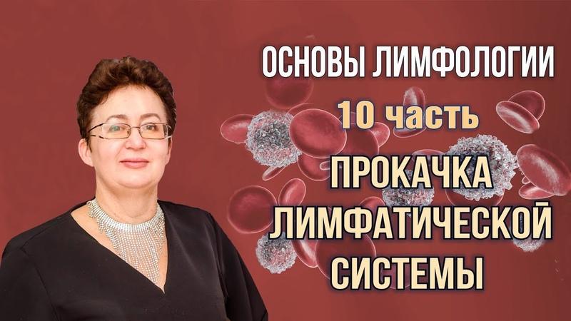 Основы лимфологии Прокачка лимфатической системы Шишова Ольга часть 10
