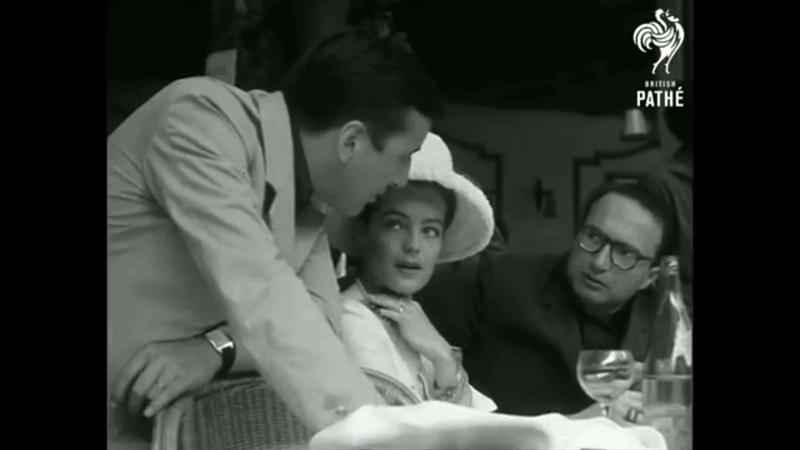 Alain Delon Romy Schneider Cannes 1962