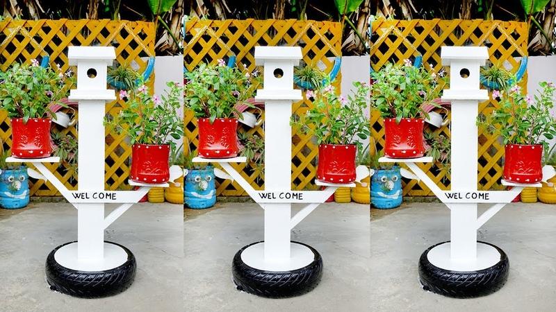 Garden Art Decoration Easy And Cool DIY Birdhouse Ideas For Your Garden