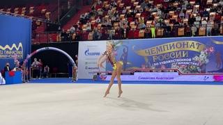 Anastasia Simakova - Clubs Nationals 2021 EF