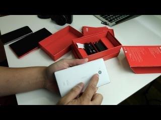 Nokia Lumia Icon retail unboxing