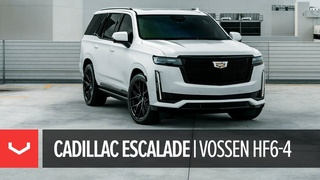 "2021 Cadillac Escalade | 24"" Vossen HF6-4 Wheels"