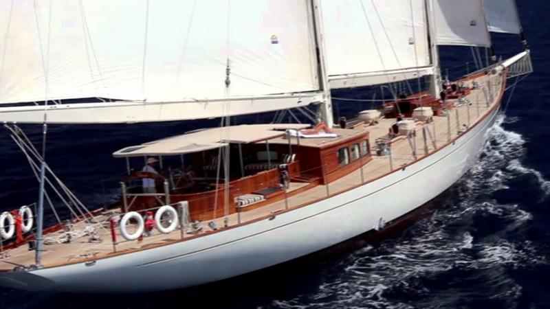 Sailing Yacht GWEILO