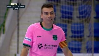 FUTSAL | Osasuna Magna Xota 2 - Barça 4 (Jornada 8 - LNFS 2020/21)