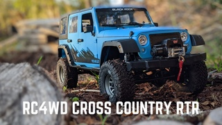 RC4WD Cross Country Off-road Black Rock RTR Review & Run