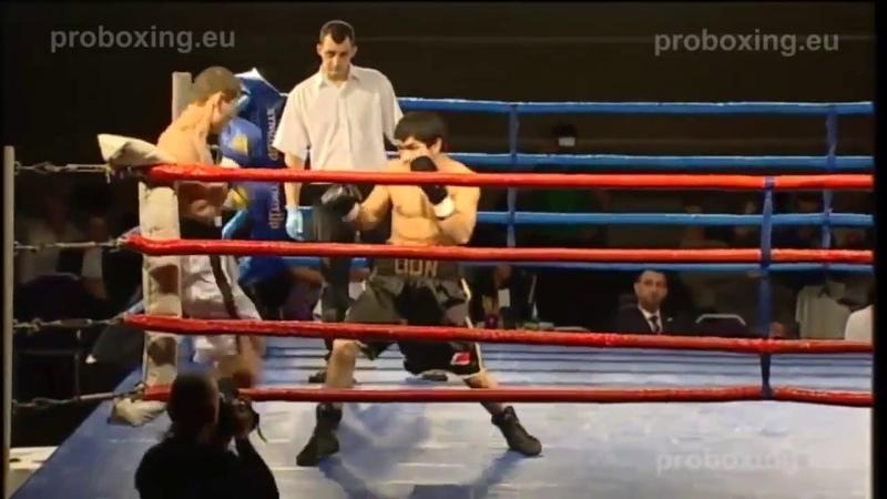 Sherali Mamadaliev the LION TAG VS Artem Korasev LIT Magadan Fights 27 12 2014