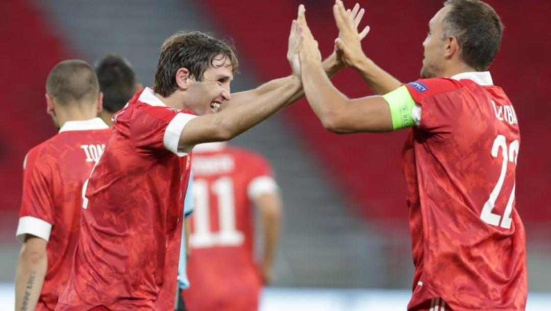 Сборная Венгрии - Сборная России, 2:3. Артем Дзюба и Марио Фернандес