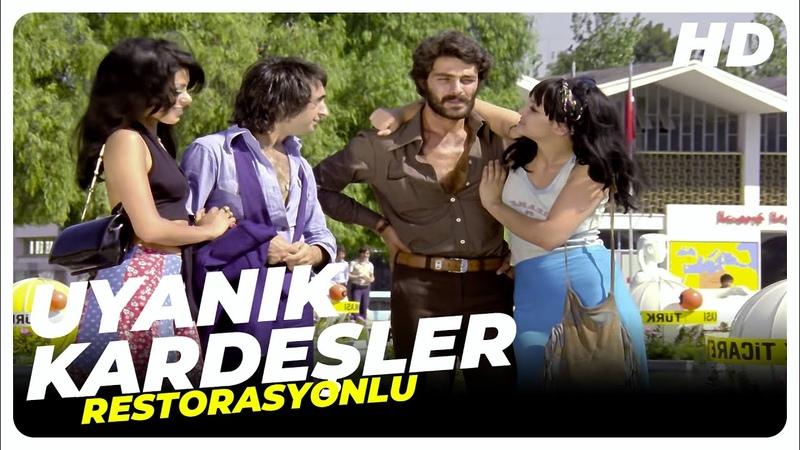 Nostalji Uyanık Kardeşler   Eski Türk Filmi Tek Parça (Restorasyonlu)