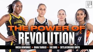 REALEST WNBA TALK EVER! Diana Taurasi, Skylar Diggins-Smith, Sue Bird, and Nneka Ogwumike Keep It 💯
