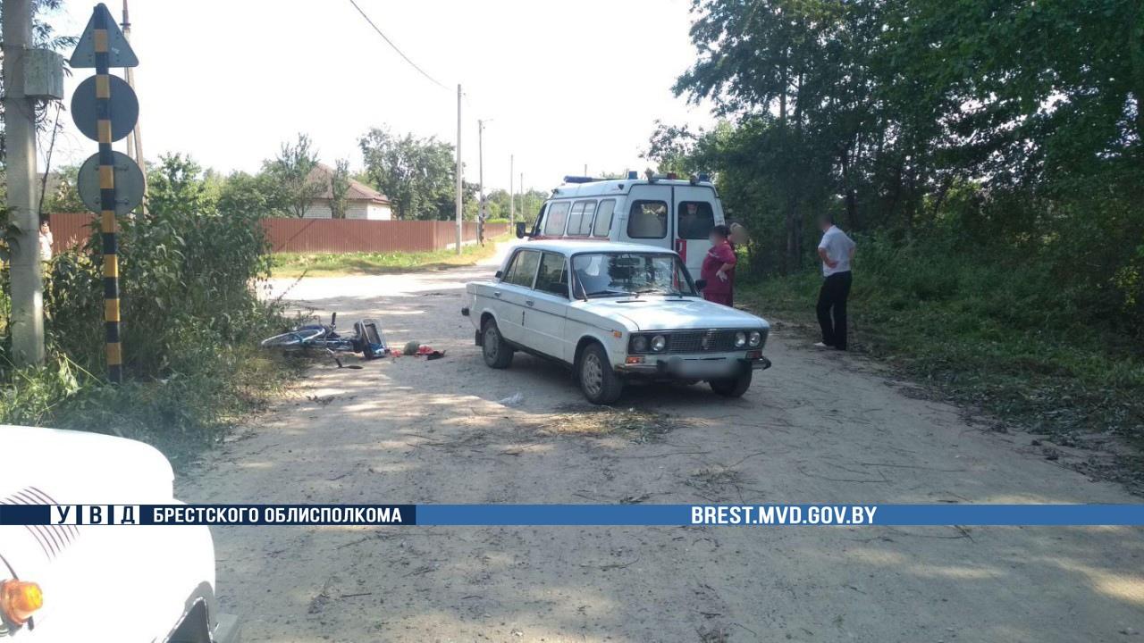 В Жабинке произошло смертельное ДТП с участием пожилого велосипедиста
