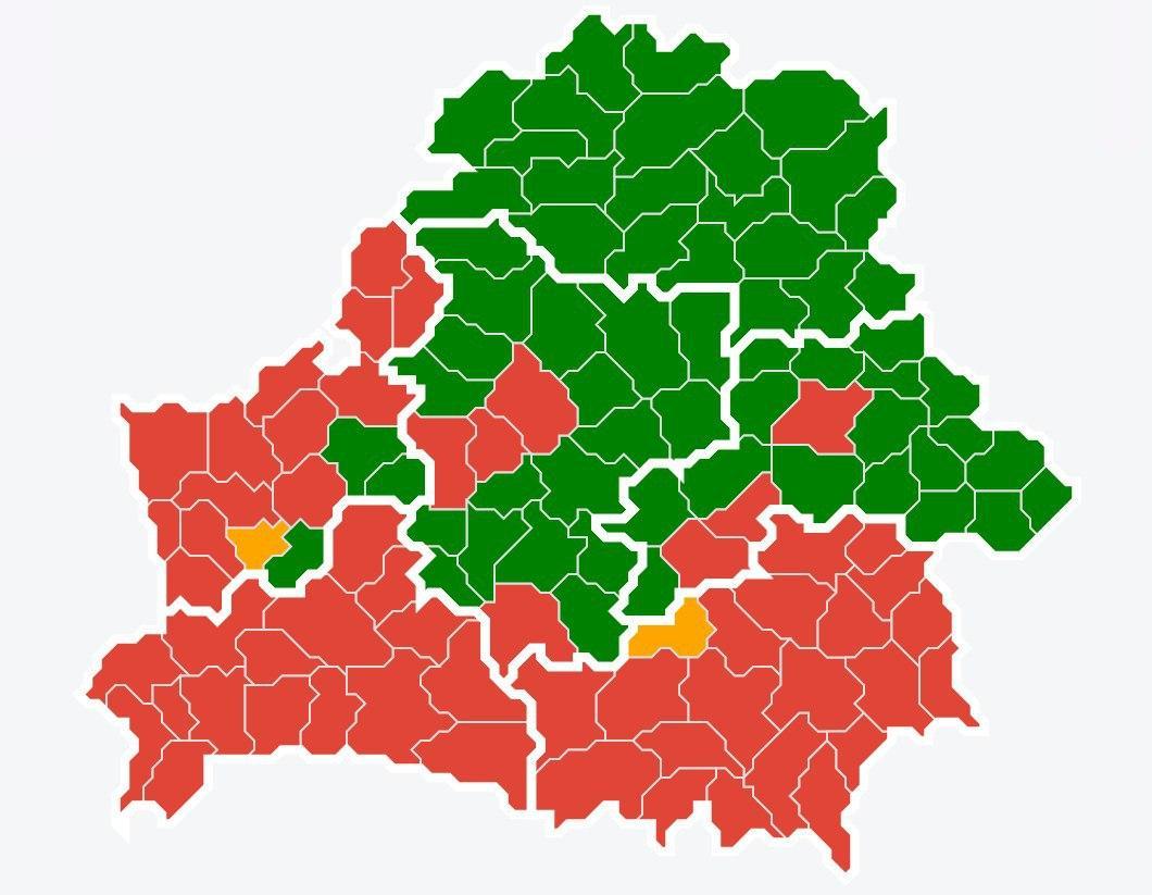 Почти полстраны закрыли... Запрет на посещение лесов действует в 52 районах Беларуси