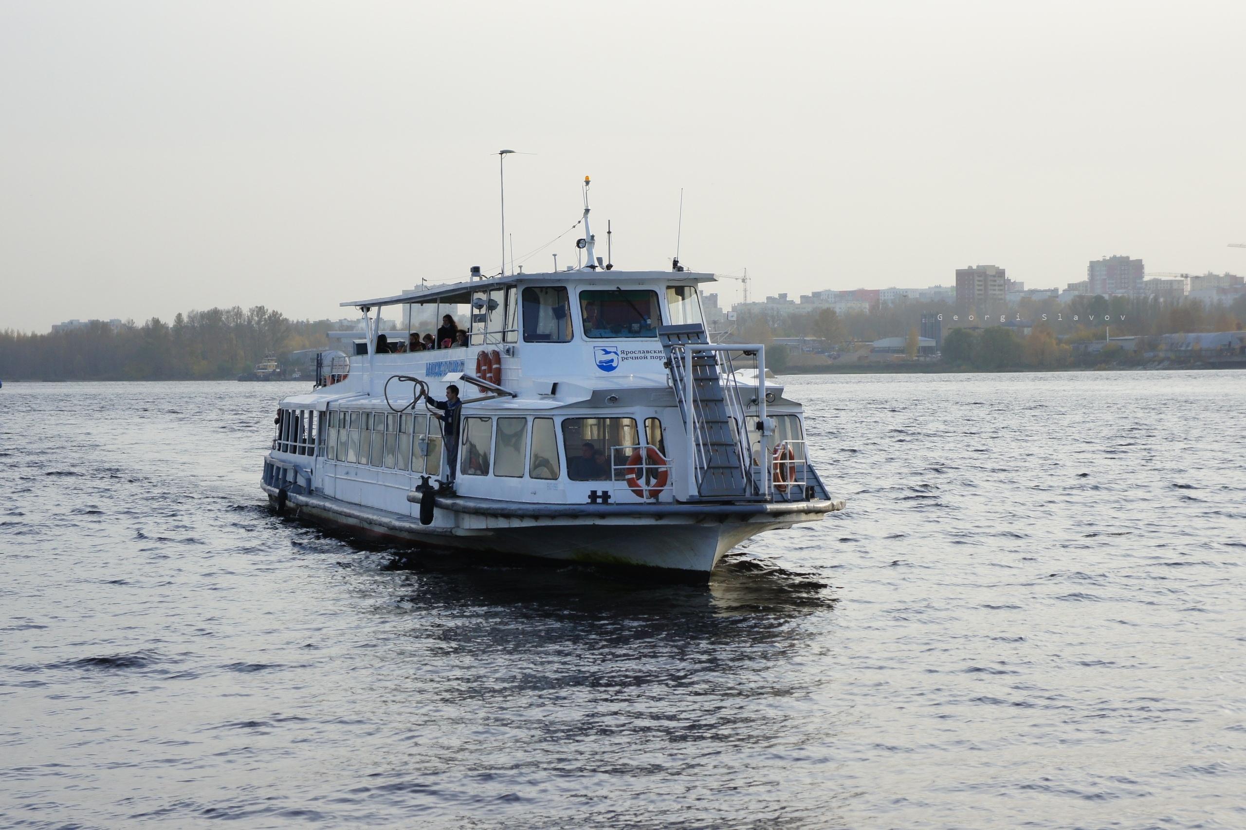 Расписание речного трамвайчика в Ярославле на 2021