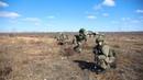 Первый этап совместного учения ВДВ России и ССО Белоруссии на полигоне Осиповичский