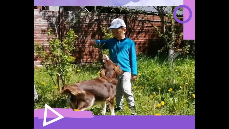 Маленький Аюр Бурдин с мамой записали по настоящему летнее видео для нашей акции Читаем вместе