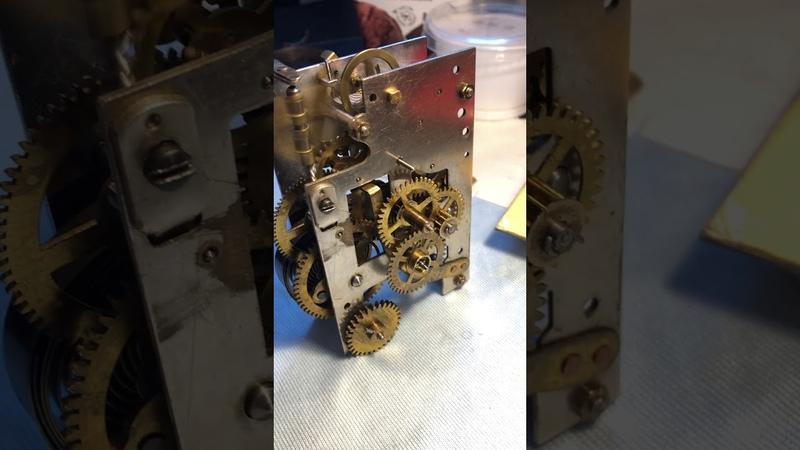 The mechanism of clock Junghans Joker 1895-1896...