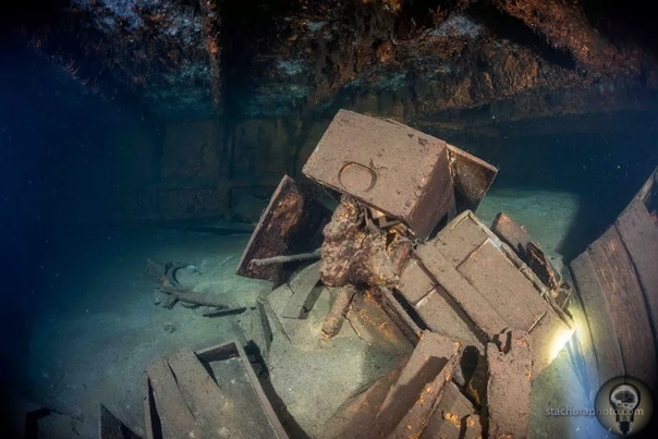 Обнаружен затонувший корабль, на котором может быть Янтарная комната