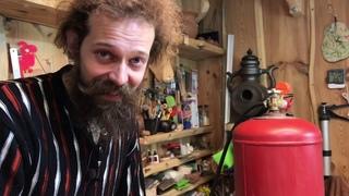 🍯 Газовый баллон с пропаном на 50 литров Обзор Подключение горелки для обжига Волшебство керамики