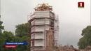 В Гольшанском замке возобновились восстановительные работы Панорама