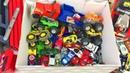 Игрушки Большая Коробка Машинки Хот Вилс Монстр Трак Мстители Грузовики Видео для Детей