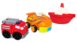 Toy cars for kids & Mega blocks toys for babies - Build and play car games for kids