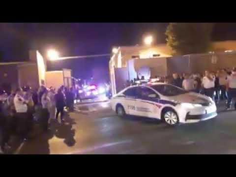 Автобусы с сотрудниками полиции Армении! Конфликт Нагорный Карабах