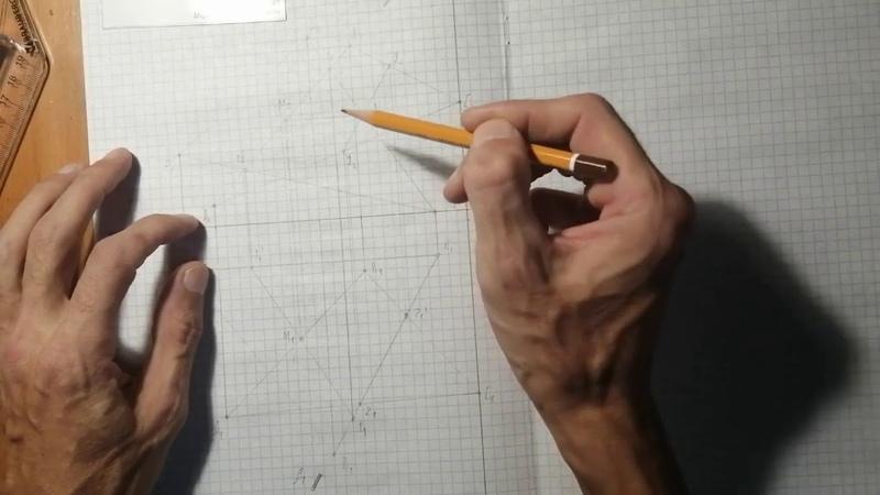 Начертательная геометрия 4 урок Метод плоскостей посредников