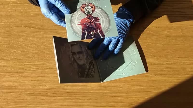 Roine Stolt's The Flower King Manifesto Of An Alchemist Unboxing CD