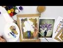 Рисование. Урок 13 Весенний букет