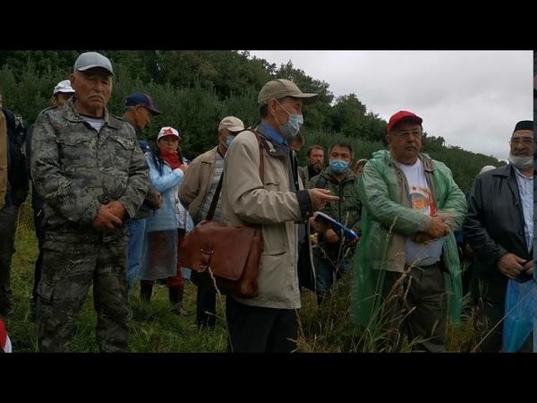 Общение с Гарифуллой Япаровым адвокатом защитников КУШТАУ