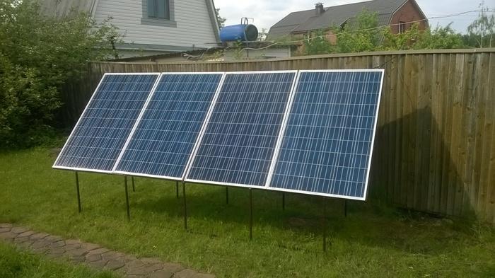 Солнечные панели (пример)