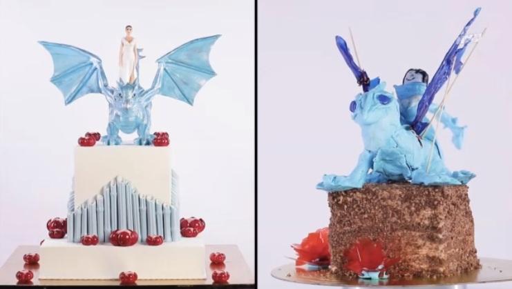 Торт с драконом для Яны Кошкиной
