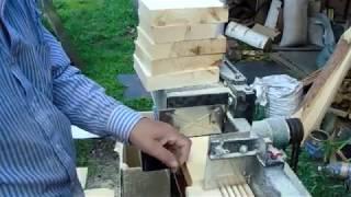 Супер мастерская пчеловода Испытание многопила на магазинных боковушках