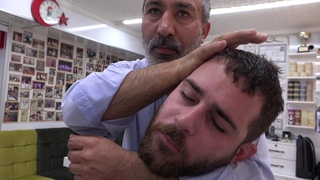 ASMR Turkish Barber by Münür Önkan Head,Neck,Back,Arm Massage